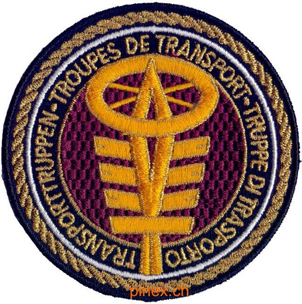 Photo de Insigne Badge troupes de transport armée suisse