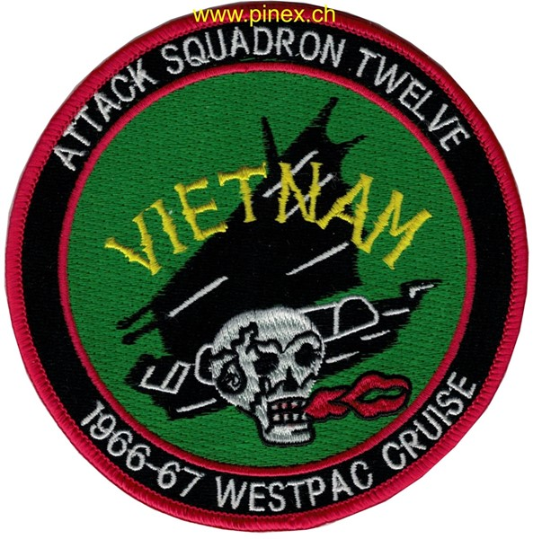 Photo de VA-12 Vietnam 1966-67 Westpac Cruise
