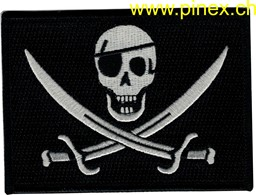 Bild von Navy Seal - One Eye Caligo Jack - OIF - OEF - ACU Patch