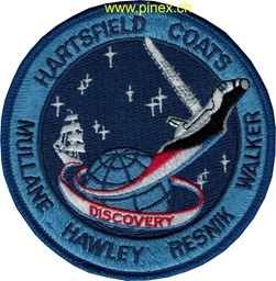 Photo de STS 41D Space Shuttle Discovery Badge