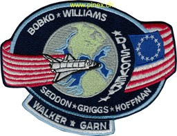 Photo de STS 51D Discovery NASA Patch
