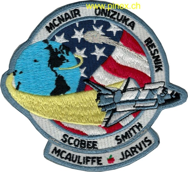 Photo de STS 51-L Challenger NASA Patch