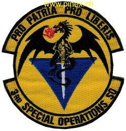 Bild von 3rd Special Operations Squadron Patch