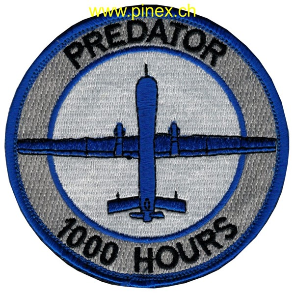 Photo de Predator Drohne 1000 Hours Abzeichen US Air Force