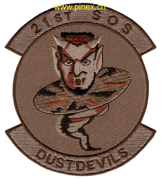 Photo de 21th Special Operations Squadron Dust Devils braun