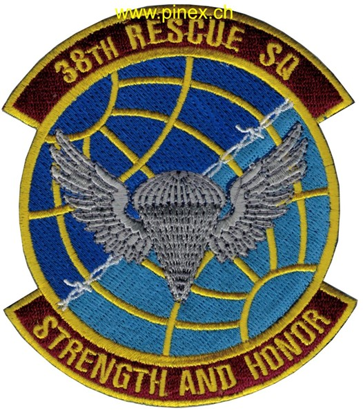 "Photo de 38th Rescue Squadron ""Strength and Honor"" US Air Force"