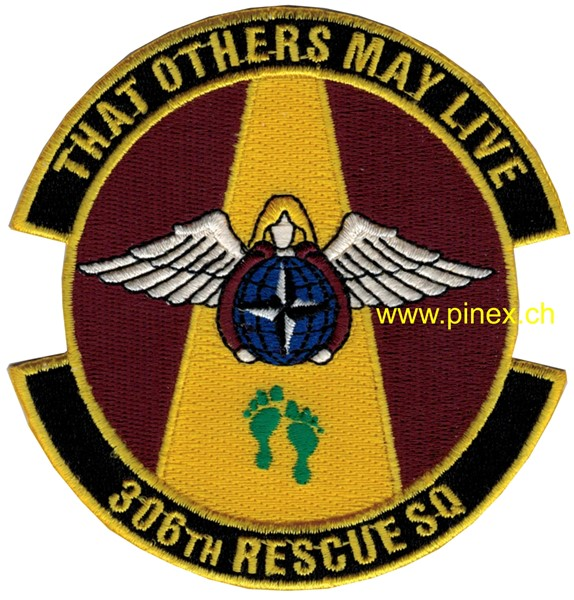 "Photo de 306th Rescue Squadron ""That others may live"" USAF Patch"