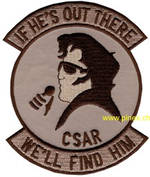 Bild von CSAR Patch Elvis (Combat Search and Rescue)